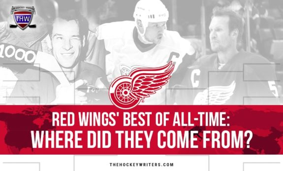 Red Wings' Best of All-Time: Where Did They Come From? Gordie Howe, Steve Yzerman, Nicklas Lidstrom
