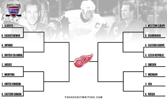 Red Wings' Best of All-Time: Where Did They Come From? Gordie Howe, Steve Yzerman, Nicklas Lidstrom Bracket