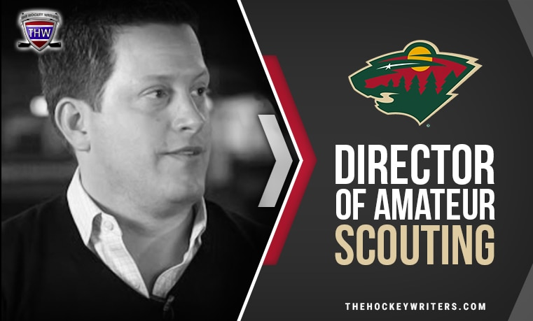 Minnesota Wild Director of Amateur Scouting Judd Brackett