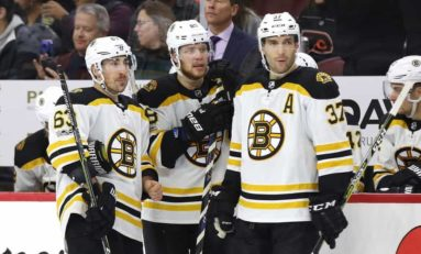 Bruins Need to Break up Top Line