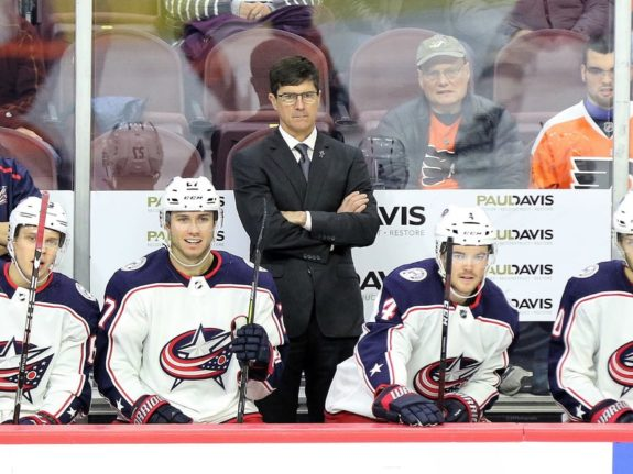 Brad Shaw assistant coach, Columbus Blue Jackets