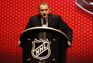 Brad Treliving (Bill Streicher-USA TODAY Sports)