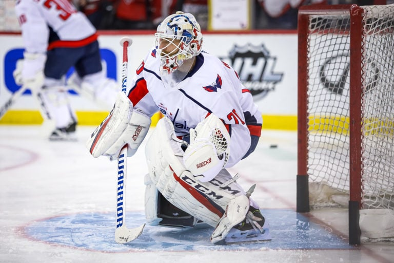 Braden Holtby Capitals Washington