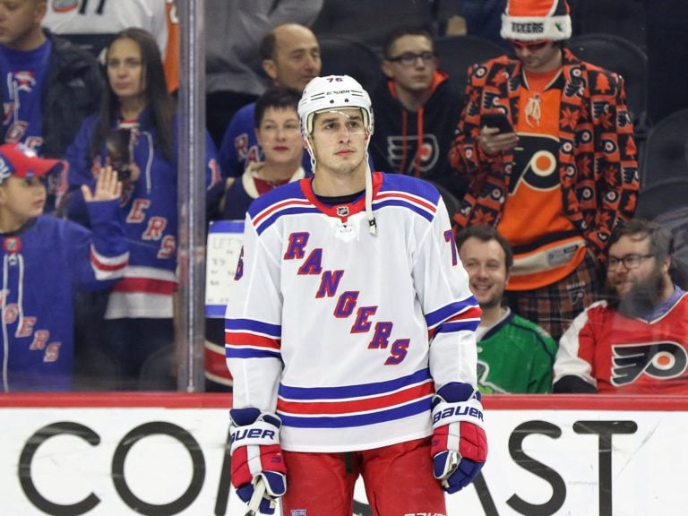 Brady Skjei New York Rangers