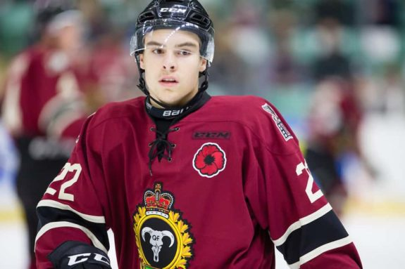 Brandon Hagel Red Deer Rebels Sabres