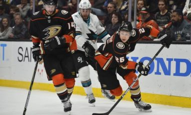 Ducks Drop Game 2 to Sharks: 3 Takeaways