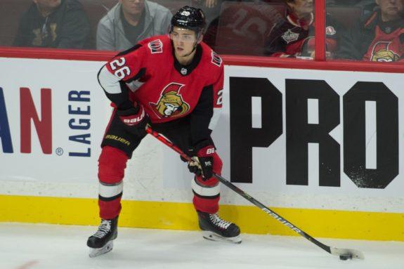 Ottawa Senators Erik Brannstrom