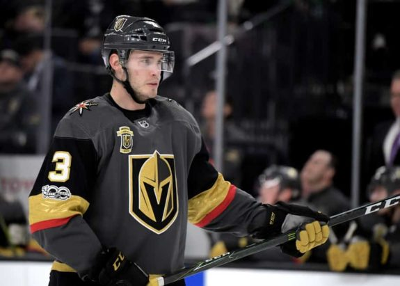 Brayden McNabb Golden Knights