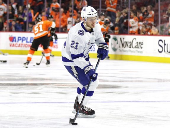 Brayden Point #21, Tampa Bay Lightning