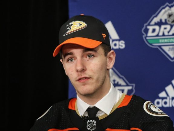 Brayden Tracey Ducks Draft
