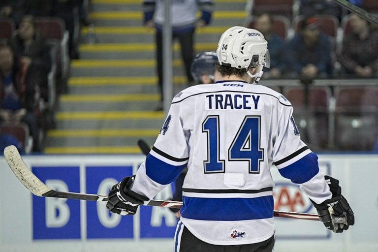 Brayden Tracey Victoria Royals