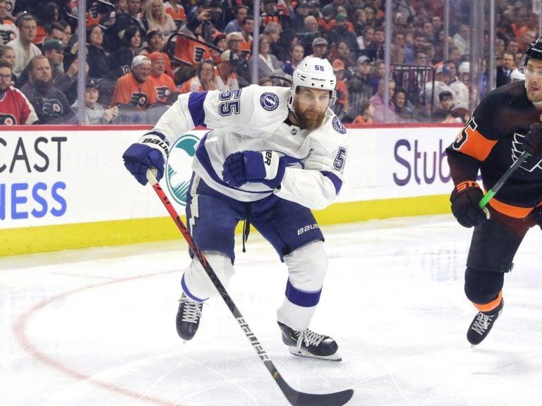 Braydon Coburn Tampa Bay Lightning