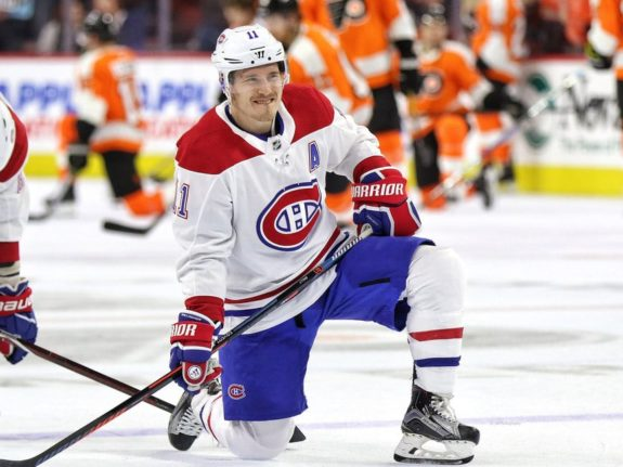 Montreal Canadiens forward Brendan Gallagher