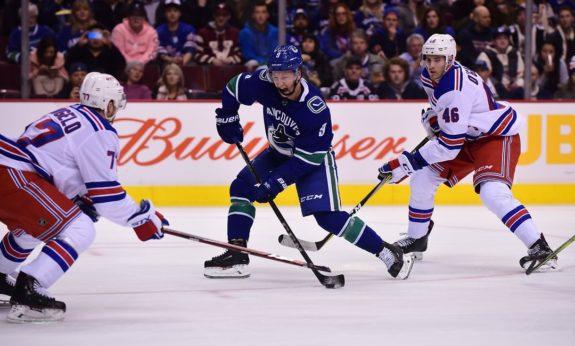 Brendan Leipsic Vancouver Tony DeAngelo Rangers