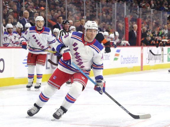 Brendan Lemieux New York Rangers