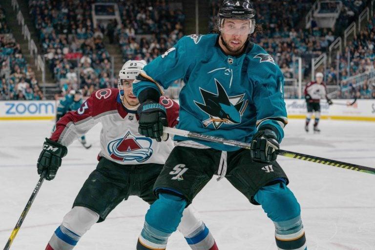 Sharks defenseman Brenden Dillon