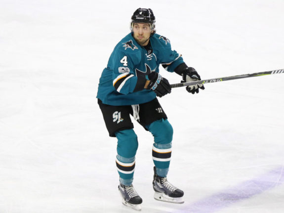 Brenden Dillon San Jose Sharks