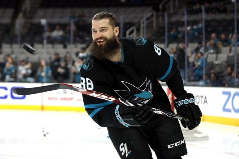 San Jose Sharks Brent Burns