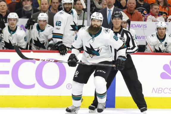 Brent Burns, San Jose Sharks