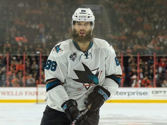 Brent Burns, San Jose Sharks, NHL, Fantasy Hockey