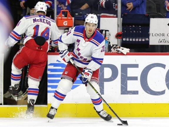 Brett Howden New York Rangers