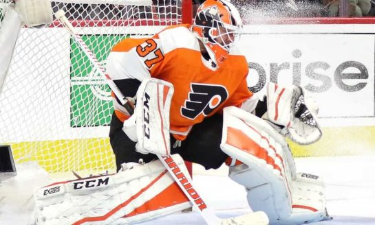Couturier, Elliott Come Up Big - Flyers Shutout Blackhawks