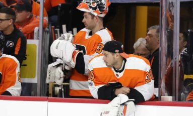 Flyers Facing Goalie Gap
