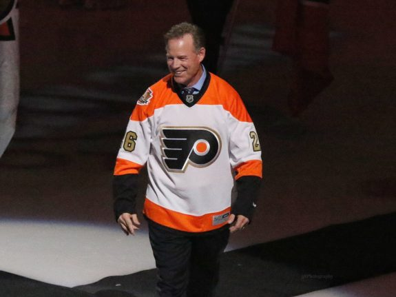 Brian Propp Philadelphia Flyers