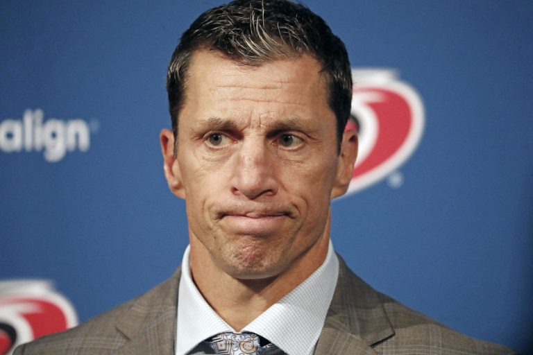 Carolina Hurricanes head coach Rod Brind'Amour