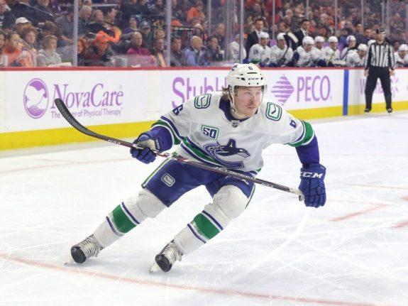Brock Boeser Vancouver Canucks