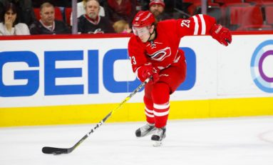 Hurricanes' Brock McGinn to Win