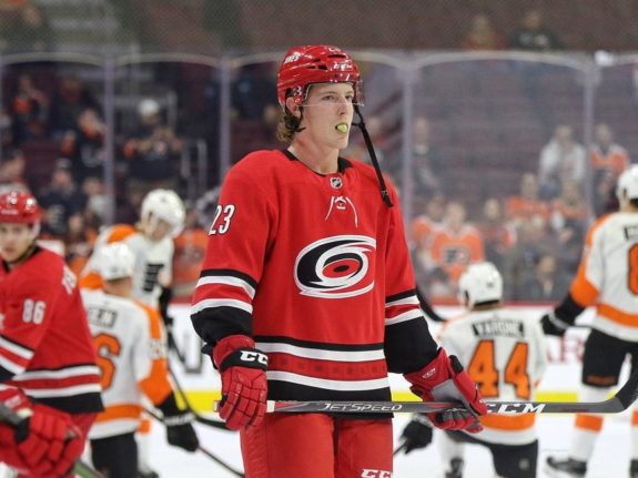 Brock McGinn, Carolina Hurricanes