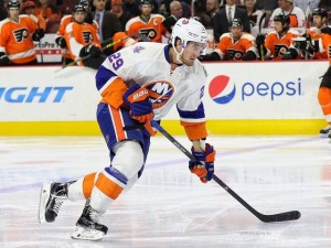 "Nelson has yet to have a ""complete"" season with the Isles(Amy Irvin / The Hockey Writers)"