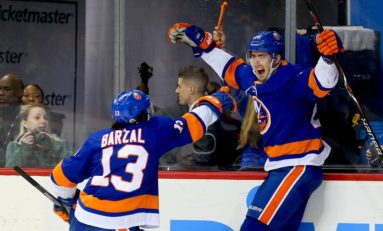 Islanders' Barzal Selected to All-Star Game; Nelson Up for Fan Vote