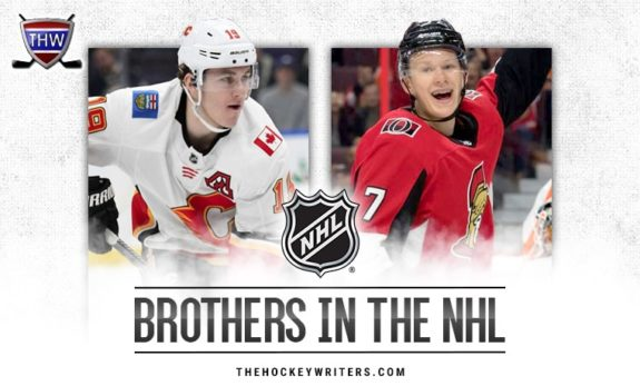 Brothers in the NHL Brady and Matthew Tkachuk