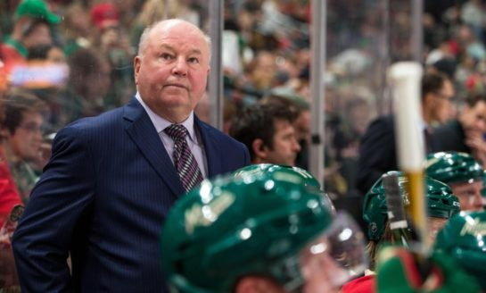 Wild Part Ways With Boudreau