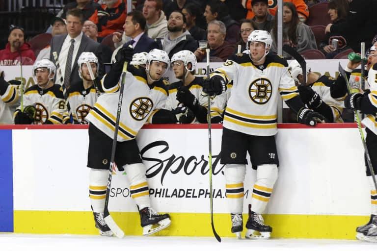 Bruins Bench