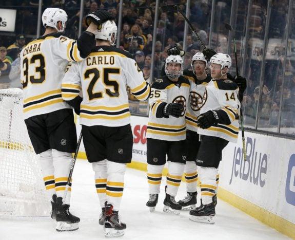 Boston Bruins Chris Wagner