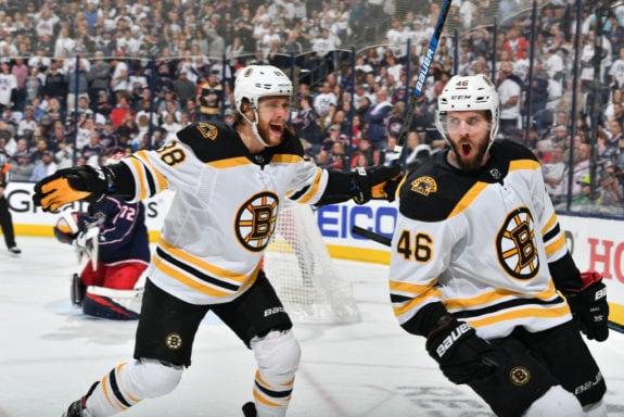 David Krejci David Pastrnak Boston Bruins
