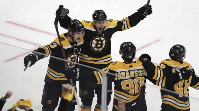 Boston Bruins Charlie Coyle