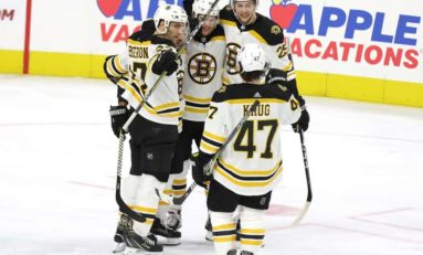 Bruins Depth Too Much to Handle