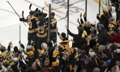 Bruins Thrive Through 'War of Words'