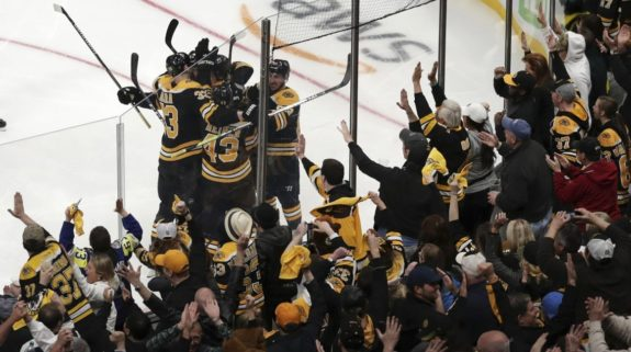 Boston Bruins and their fans Game 7