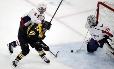Capitals Remain Thorn in Bruins' Side