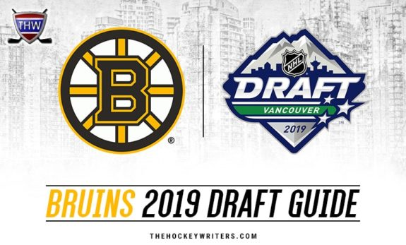 Boston Bruins 2019 NHL Draft Guide