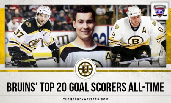 Bruins' Top 20 Goal Scorers All-Time