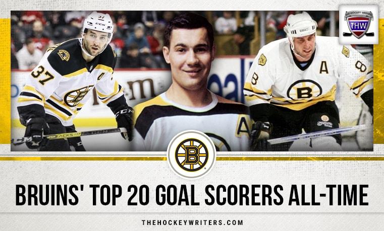Bruins' Top 20 Goal Scorers All-Time