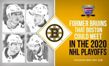 Former Bruins That Boston Could Meet in 2020 NHL Playoffs