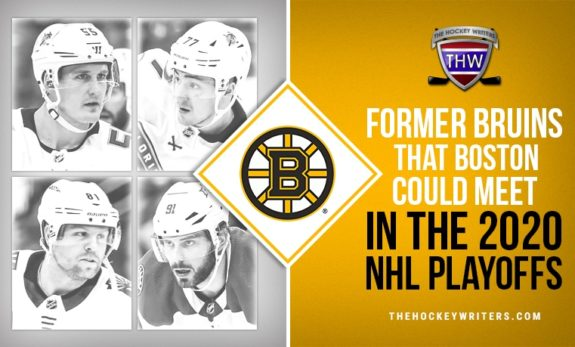 Former Bruins that Boston could meet in the 2020 NHL Playoffs Phil Kessel, Tyler Seguin, Noel Acciari Frank Vatrano