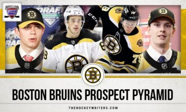 Boston Bruins 2019-20 Prospect Pyramid